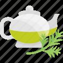 fruits, greenery, herbal, tea