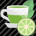 fruits, herbal, lime, tea