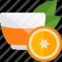 fruits, herbal, orange, tea