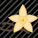 coffee, flower, food, herbs icon