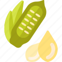 food, herbs, seed, vegetables icon