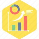 analysis, business model, chart, diagram, graph icon
