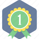 award, badge, best, medal, winner icon