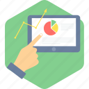 analysis, analytics, business, office, report, statistics icon