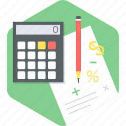 business, calculation, calculator, maths icon