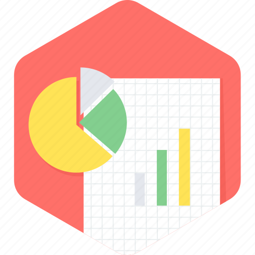 analysis, business, chart, document, graph, report icon