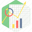 business, progress, chart, graph, growth, analysis icon