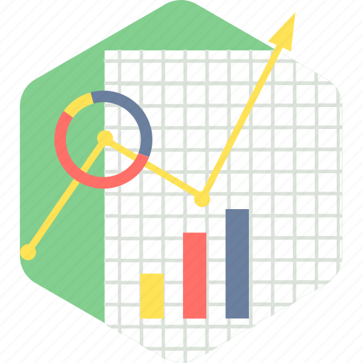 analysis, business, chart, graph, growth, progress icon
