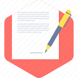 agreement, contract, sign, signature icon