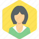 avatar, employee, female, woman icon