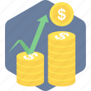 cash, currency, dollar, finance, financial, market, money icon