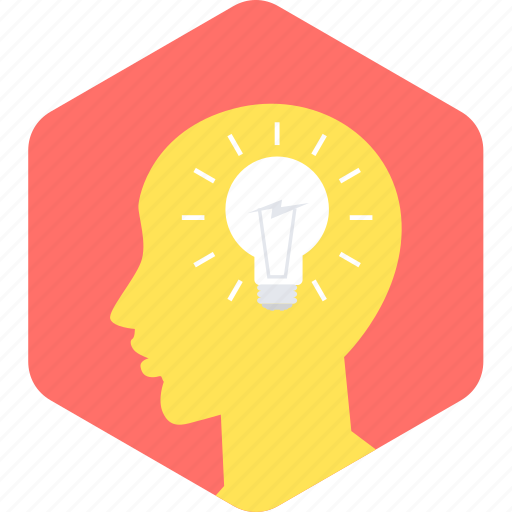 brain, idea, lamp, think, thinking icon