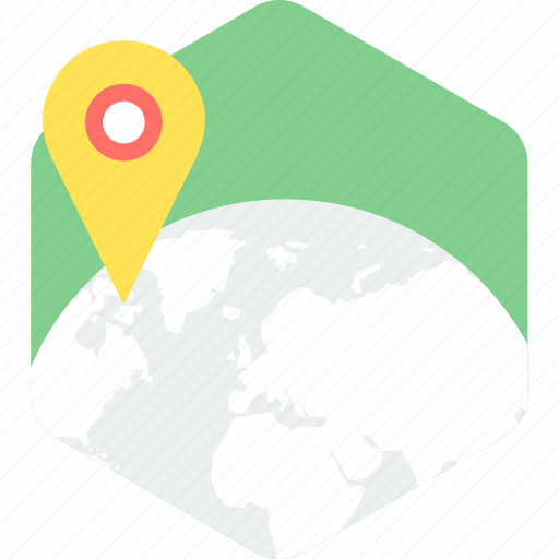 country, gps, location, map, pointer icon