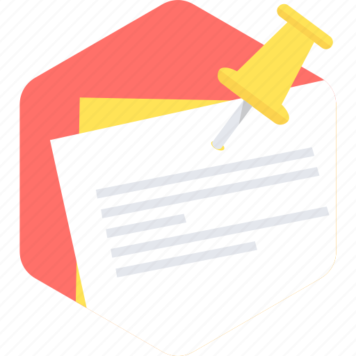 document, message, note, page, paper, text icon