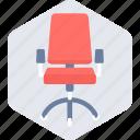 chair, office, boss chair, office chair, seat, job, work