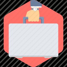bag, briefcase, business, finance, office, portfolio, suitcase icon