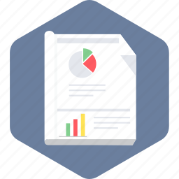analysis, business, document, idea, paper, plan, report icon