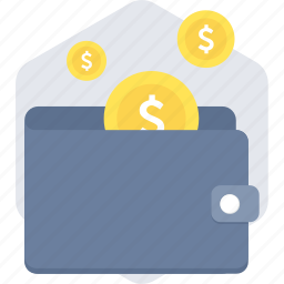 cash, currency, finance, funds, money, saving, wallet icon