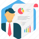 analytics, business, diagram, graph, report, statistics icon