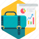 analysis, analytics, business, chart, graph, office, report icon
