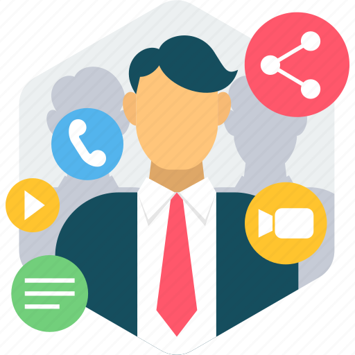 Communication, chat, links, media, network, share, social icon - Download on Iconfinder