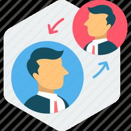 chat, communication, conversation, interaction, message, talk icon