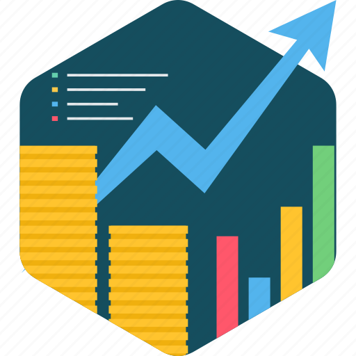 Financial, growth, analysis, business, chart, graph, report icon - Download on Iconfinder