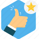 business, good, job, thumbs, up, work icon