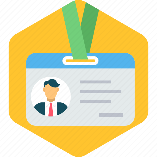 Id, business, card, identification, identity, user icon - Download on Iconfinder