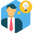bulb, creative, creativity, electricity, idea, lightbulb, power icon