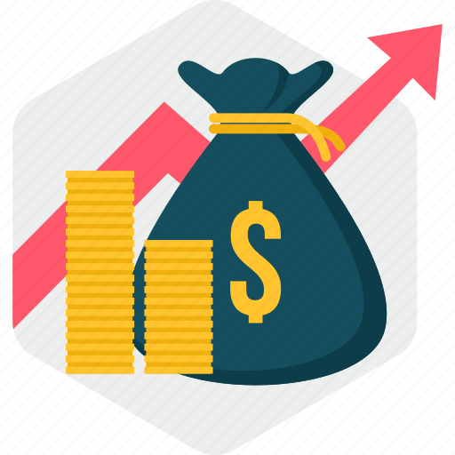 budget, funds, growth, income, investment, mutual, profit icon
