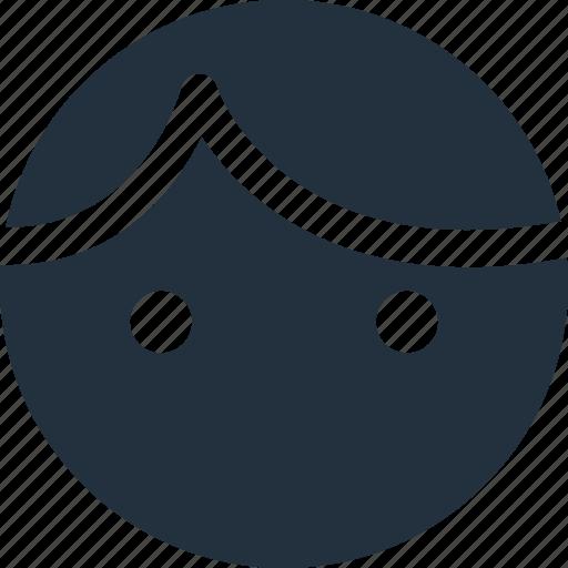 account, face, human, male, person, user icon