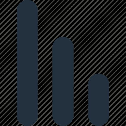 chart, graph, statistics, stats, wifi icon