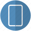 blue, tab, tecnology icon