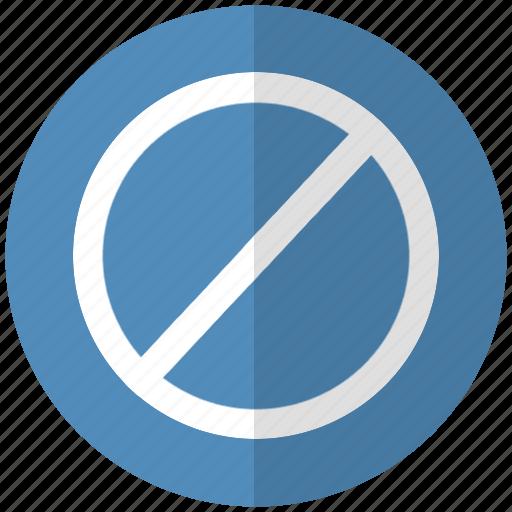 fail, no, proibido icon