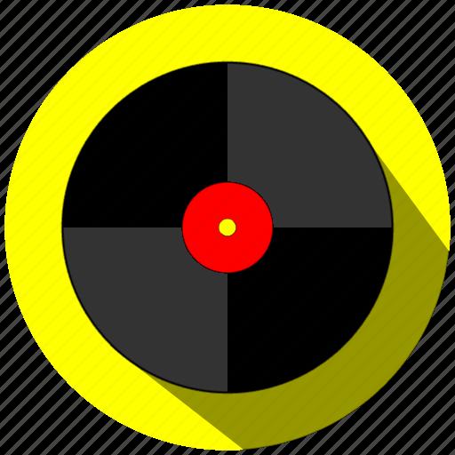 cd, disco, dj, music, yellow icon