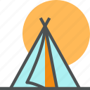 camp, camping, expedition, nature, outdoor, tent, tourism icon
