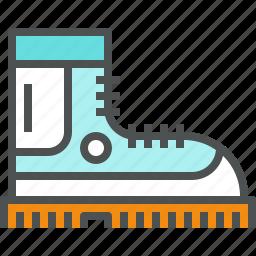 boot, footwear, hike, hiking, shoe, wear, winter icon