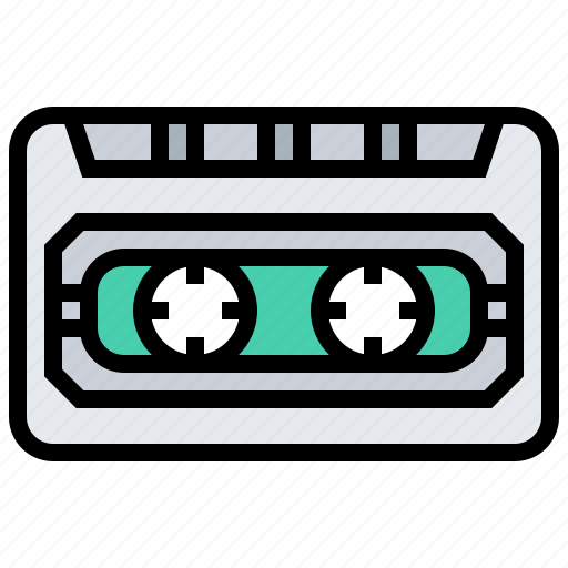audio, cassette, electronic, music, sound, tape icon