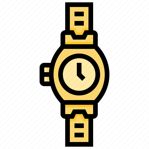 accessories, clock, time, watch icon