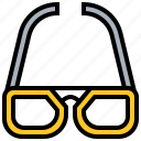 cool, eyesight, fashion, glasses, medicine icon