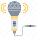 audio, microphone, music, sound icon