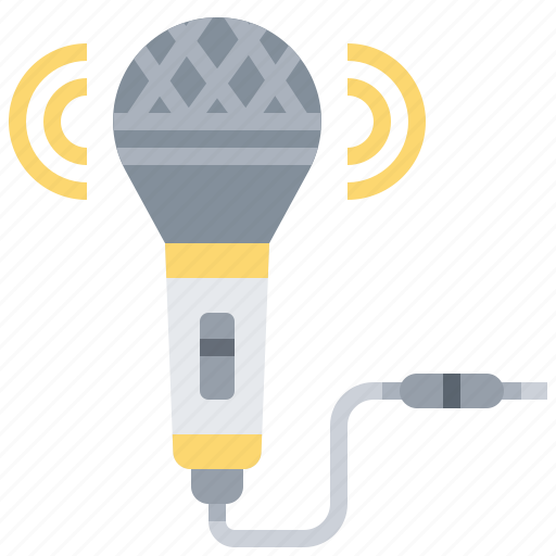 audio, microphone, music, sound icon