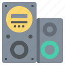 audio, music, party, sound, speaker icon