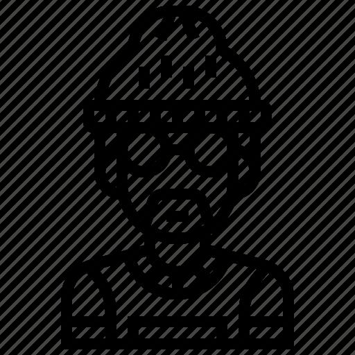 avatar, gangster, hip, hop, man, rapper icon