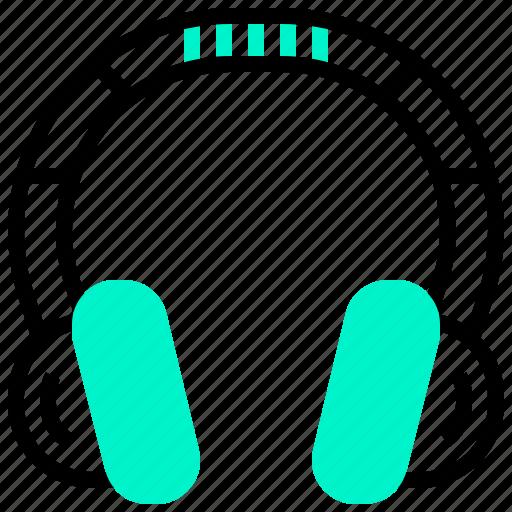 audio, device, electronic, headphone, music, sound icon