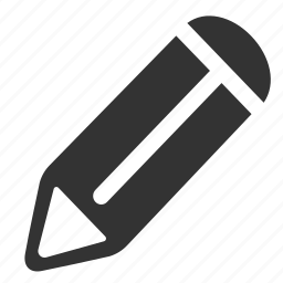 pen, pencil, writing icon