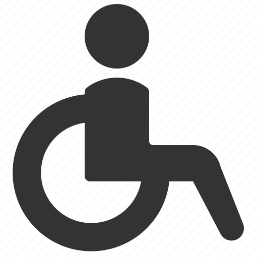 accessibility, handicap, wheelchair icon