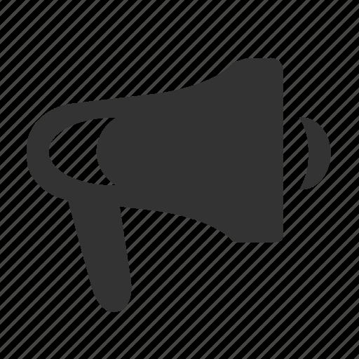 bullhorn, horn, notification icon