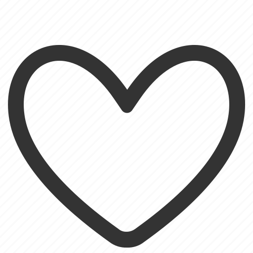 health, heart, like, love, outline, valentine icon